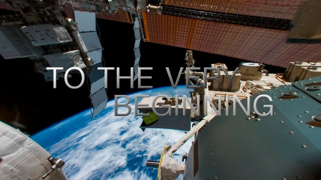"Trailer for the planetarium show ""From Earth to the Universe"""