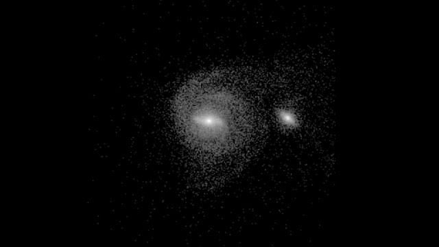 Galaxias en colisión