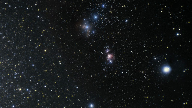 Zooming into VISTA's infrared view of the Orion Nebula
