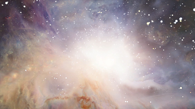 3D animation of the Orion nebula