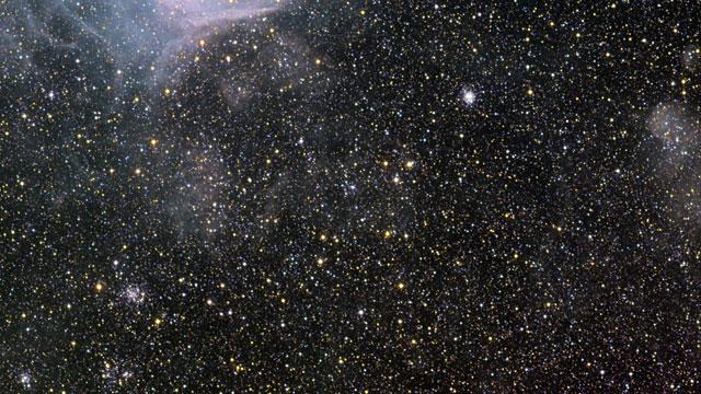 Gran acercamiento a la zona de formación estelar NGC 346