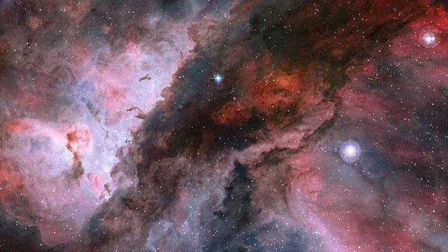 3D Animation of the Carina Nebula