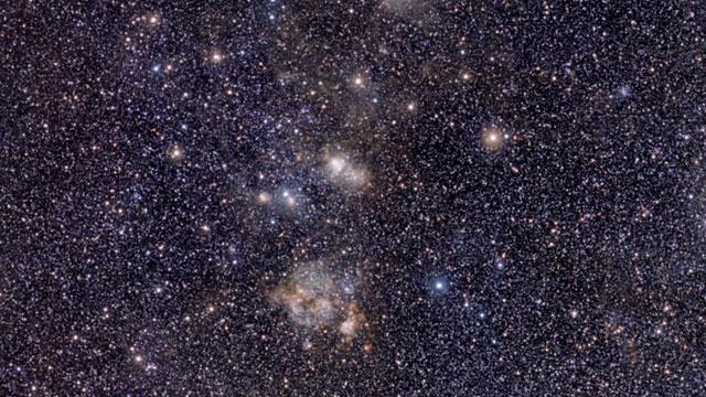 Recorrido por la imagen de la Nebulosa de la Tarántula obtenida por VISTA