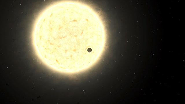 Video News Release 32: First planet of extragalactic origin (eso1045b)