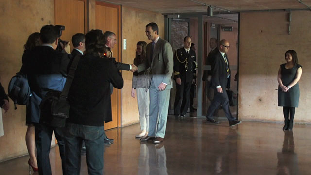The visit of the Prince and Princess of Asturias to ESO's Paranal Observatory