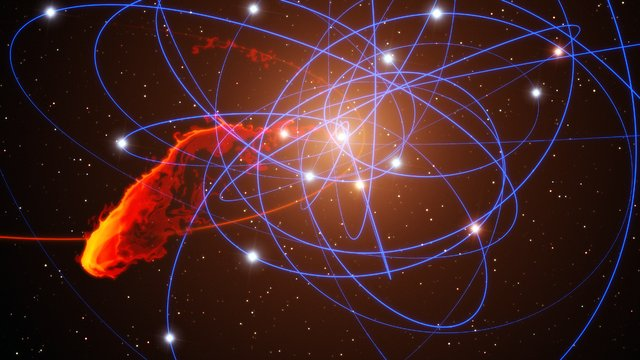 ESOcast 39: A Black Hole's Dinner is Fast Approaching