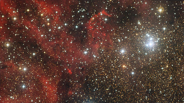 Zooming in on the star cluster NGC 6604