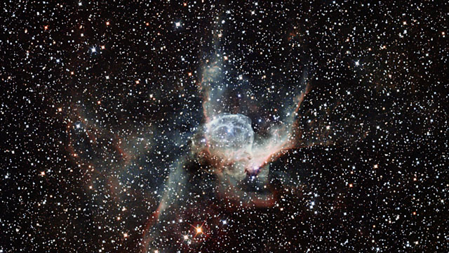 Zooming in on Thor's Helmet