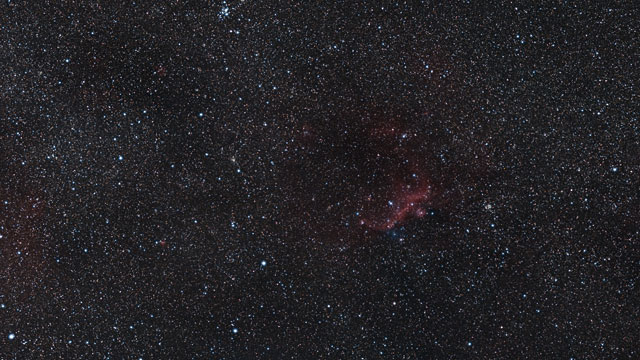 Zooming in on the wings of the Seagull Nebula