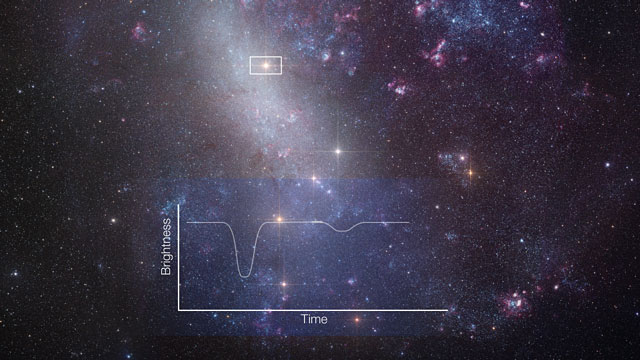 Zooming in on an eclipsing binary in the Large Magellanic Cloud