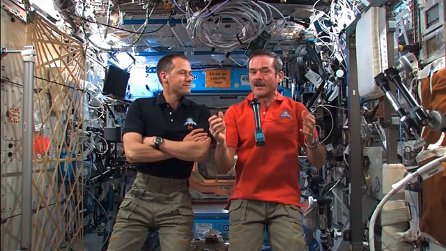 International Space Station Astronauts Congratulate ALMA Partners