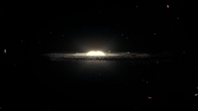 Artist's impression van de Melkweg