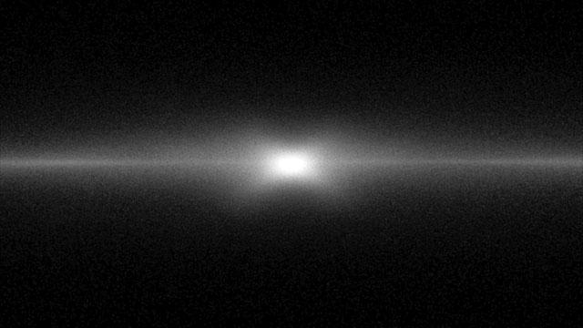 Simulazione del rigonfiamento centrale della Via Lattea a forma di X