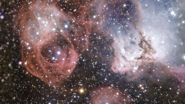 Zooming in on the star formation region NGC 2035
