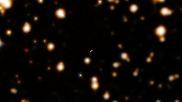 Zooming in on the nearby brown dwarf Luhman 16B