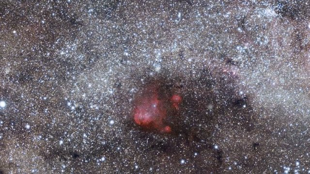 Zooming in on the star formation region Gum 41