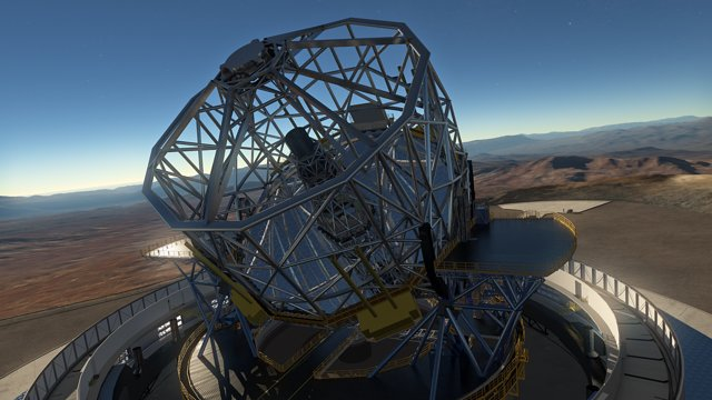 L'E-ELT (European Extremely Large Telescope)