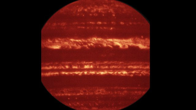 Jupiter imaged using the VISIR instrument on the VLT