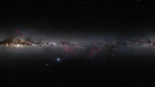 Zoom auf die protoplanetare Scheibe um V883 Orionis