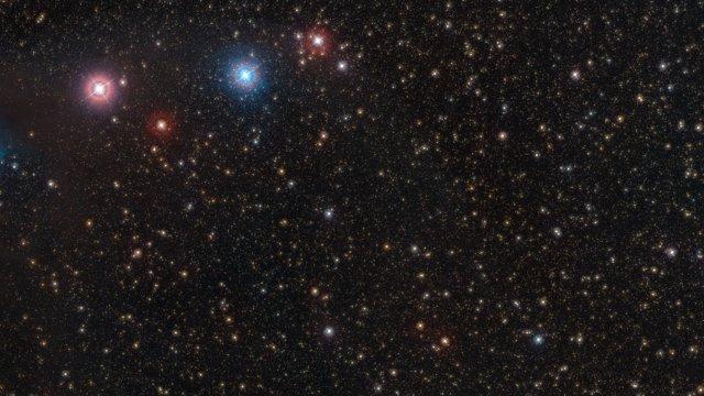Zoom inn på den svært lyssvake nøytronstjernen RX J1856.5-3754
