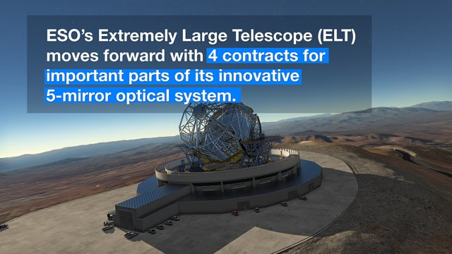 ESOcast 93 Light: Kick-off for Mirrors and Sensors for Biggest Eye on the Sky