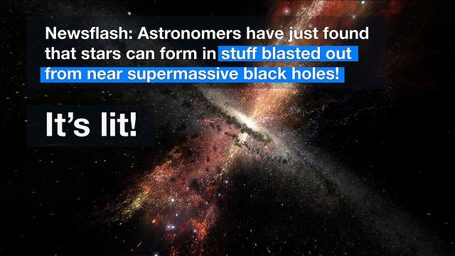 ESOcast 101 Light: Stars found in black hole blasts