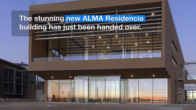 """ESOcast 103 """"in pillole"""" - Svelato il nuovo edificio residenziale per ALMA (4K UHD)"""