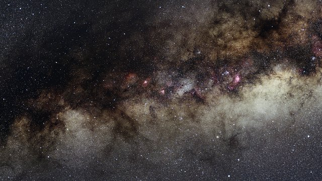 Zooming in on a rich region of star formation