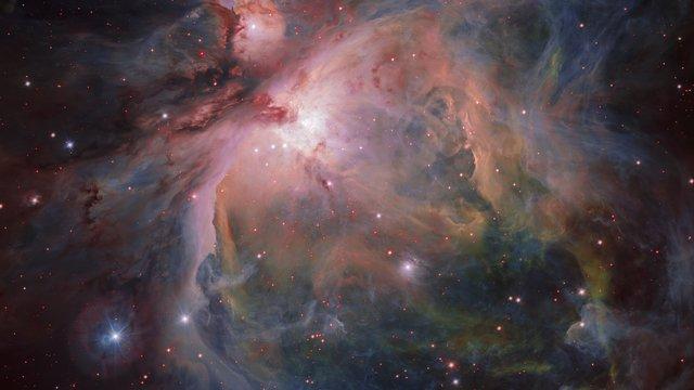 Acercándonos a la nebulosa de Orión