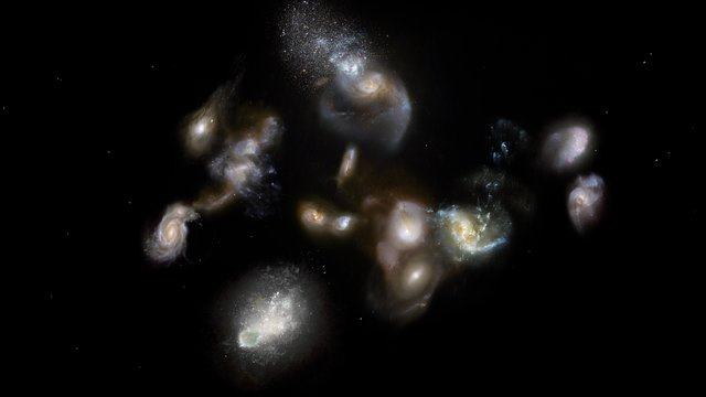 ESOcast 157 Light: Ancient Galaxy Pileups (4K UHD)