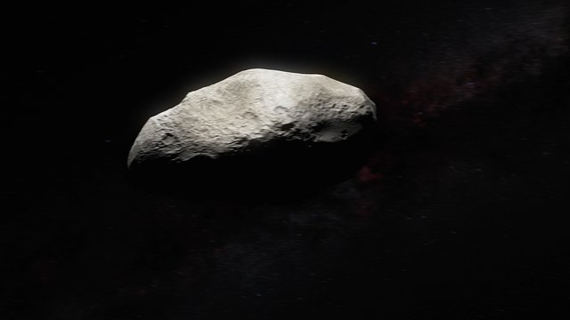 Asteroid fly-by