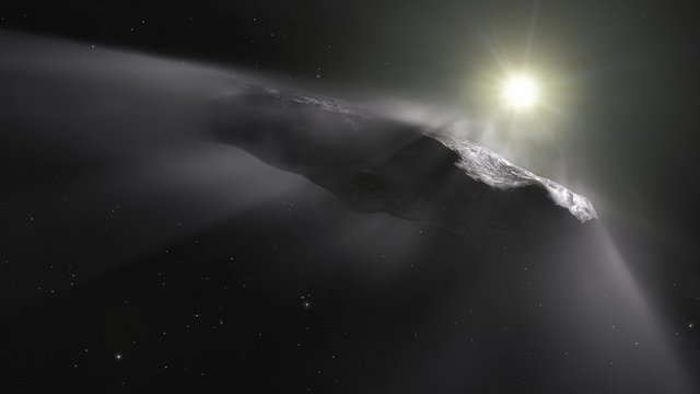 ESOcast 167: VLT sees  `Oumuamua getting a boost