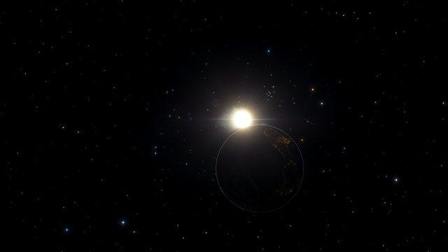 El lado oscuro de la Tierra