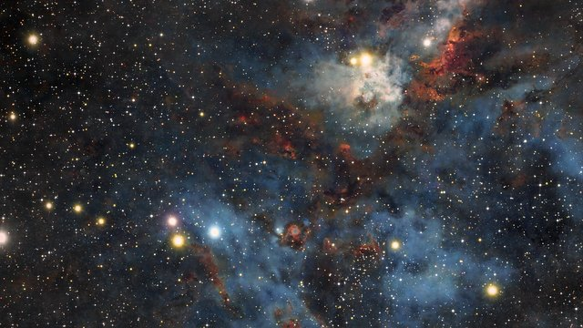 ESOcast 175 Light: Stars and Dust in the Carina Nebula (4K UHD)