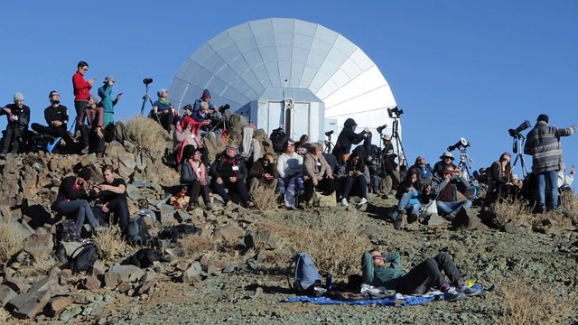 La Silla Total Solar Eclipse Attendees