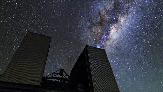 ESOcast 213 Light: A Tejútrendszer központi vidékének látványos csillagai