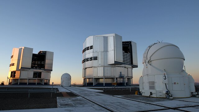 Un télescope de l'ESO signale la disparition d'une étoile massive