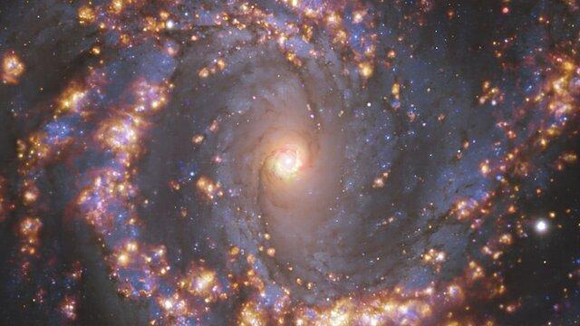 Cosmic fireworks reveal newborn stars (ESOcast Light 239)