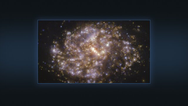 Multiple views of the galaxy NGC 1087 as seen with the VLT and ALMA