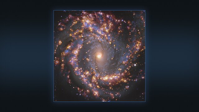 Multiple views of the galaxy NGC 4303 as seen with the VLT and ALMA