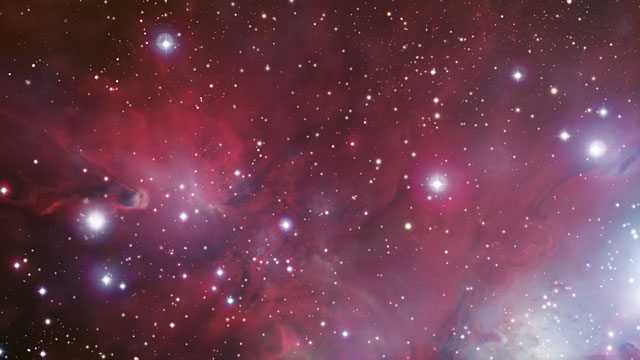 3D Animation of the Cone Nebula (Europe to the Stars Clip)