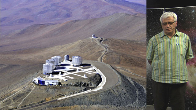 La Silla and Paranal, by Alain Gilliotte