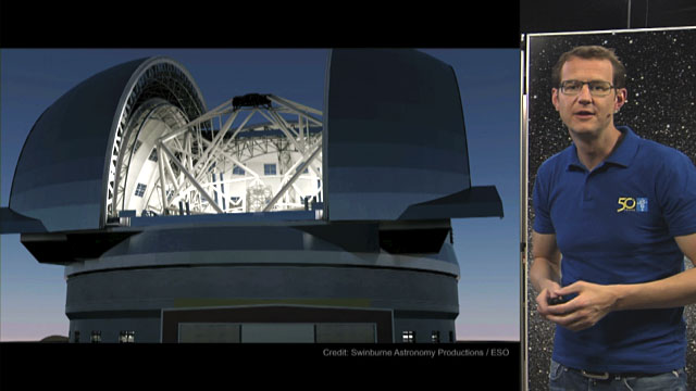 The European Extremely Large Telescope (E-ELT), by Joe Liske
