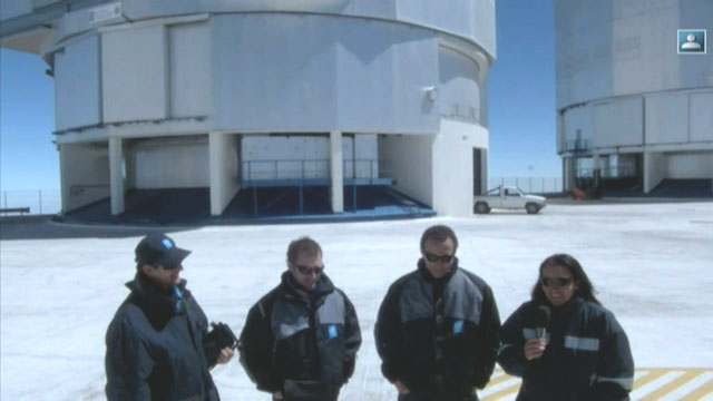 A Day in the life of ESO: live link to Paranal