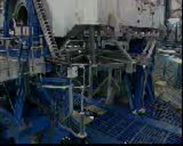 VLT Unit Telescope 1 during integration