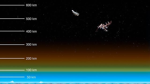 Ausschnitt aus ESOcast 78: Die Höhe des Airglows