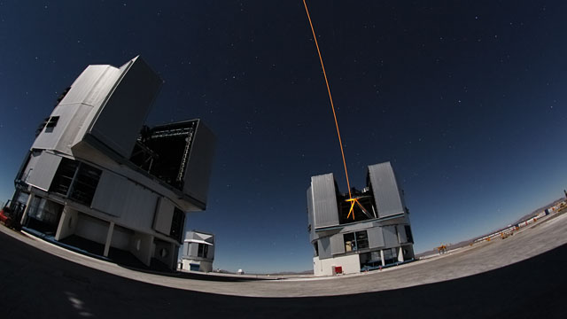 VLT and VST time-lapse