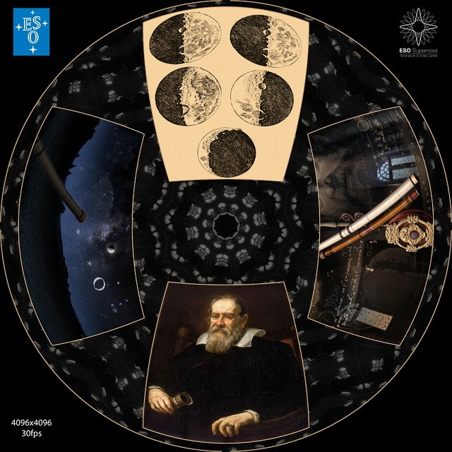 """From Earth to the Universe"" — Galileo"