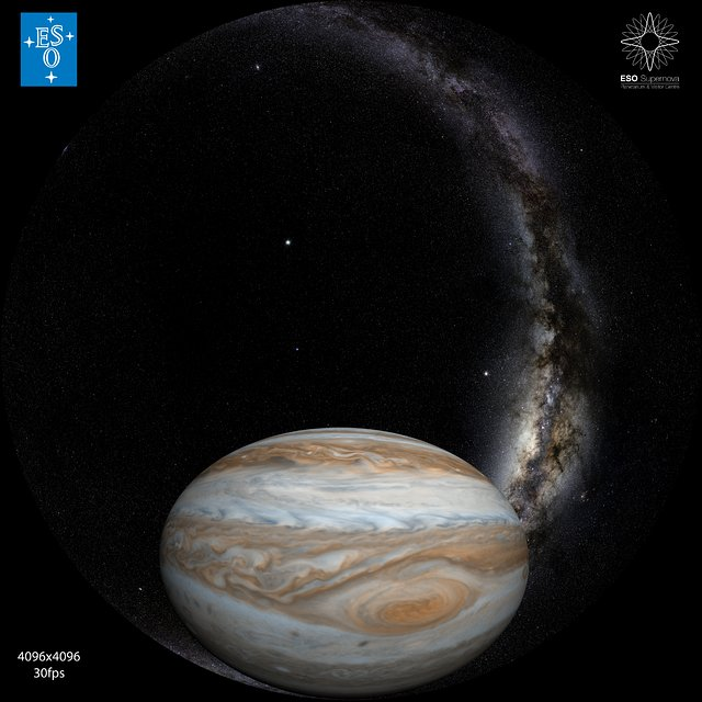 """From Earth to the Universe"" — Jupiter and the Great Red Spot"