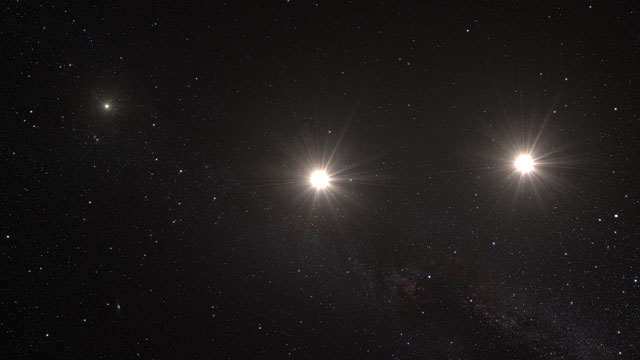 Earth to Alpha Centauri